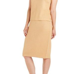 St John Collection Marie Gray Santana Knit Skirt